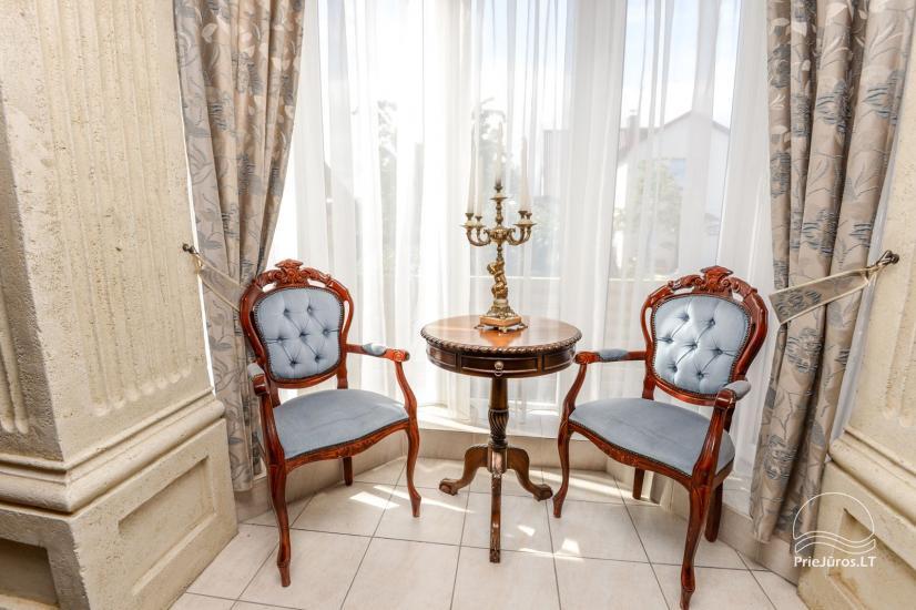 Dzīvokļu un istabu ire Palangā privātajā viesu namā COLUMBA LIVIA - 8