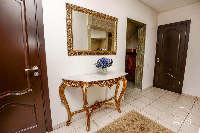 Dzīvokļu un istabu ire Palangā privātajā viesu namā COLUMBA LIVIA - 7