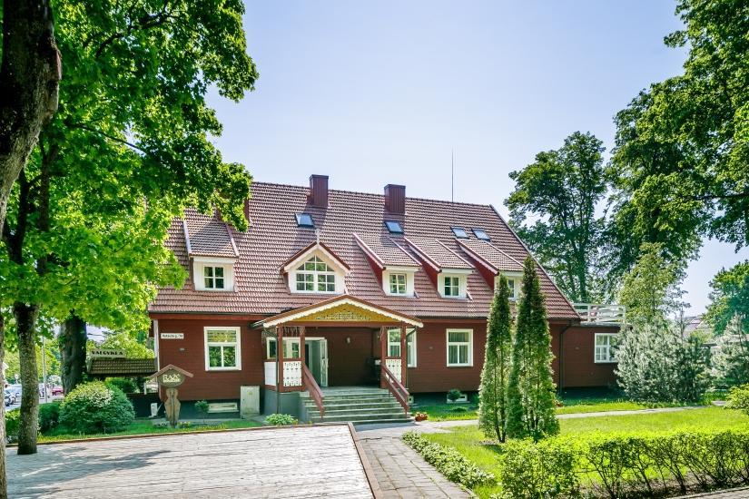 "Hotel ""Rąžė"", first building"