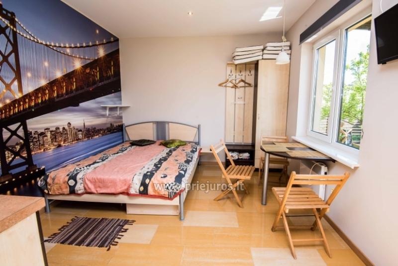 Apartamentai studijos tipo Šventojoje
