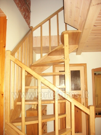 Cottage with fireplace for rental, apartment and rooms for rent in Nida - 8