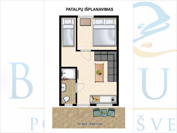 """BELUGA"" - NEW HOLIDAY APARTMENTS CLOSE TO THE BEACH - 10"
