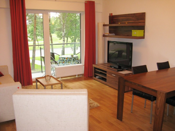 Moderne 2-Zimmer Apartment 24 in Palanga 500 m zum Meer - 1