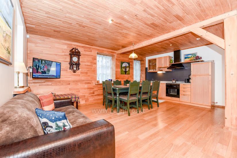 Apartments in Nida für 6-8 Gäste mit Sauna, eigenem Garten, in der Nähe des yachtclub - 3