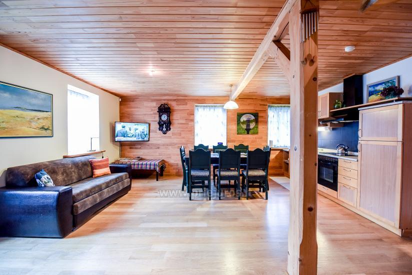 Apartments in Nida für 6-8 Gäste mit Sauna, eigenem Garten, in der Nähe des yachtclub - 4