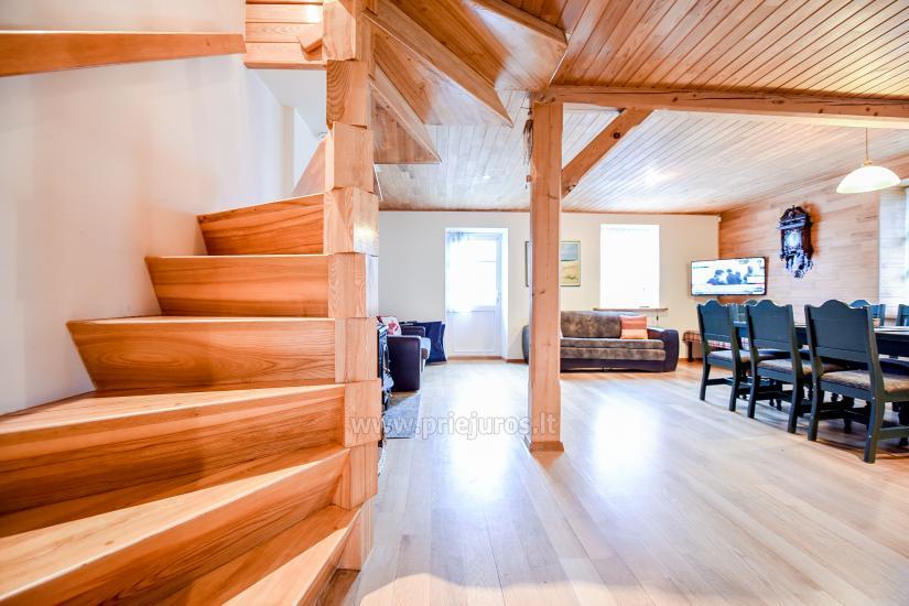 Apartments in Nida für 6-8 Gäste mit Sauna, eigenem Garten, in der Nähe des yachtclub - 6