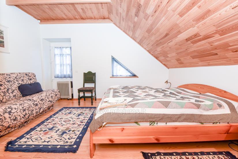 Apartments in Nida für 6-8 Gäste mit Sauna, eigenem Garten, in der Nähe des yachtclub - 10
