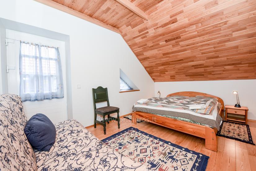 Apartments in Nida für 6-8 Gäste mit Sauna, eigenem Garten, in der Nähe des yachtclub - 11