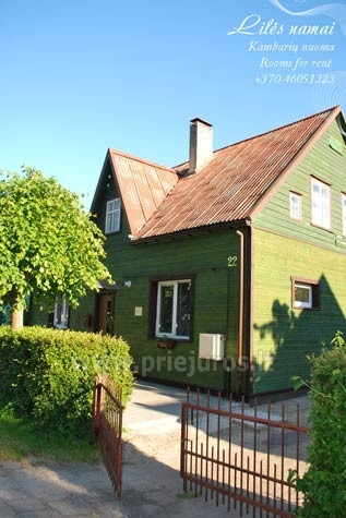 Private Accommodation in Palanga: rooms and holiday cottage LILĖS NAMAI - 1