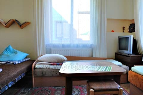 Private Accommodation in Palanga: rooms and holiday cottage LILĖS NAMAI - 4
