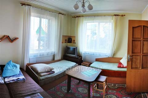 Private Accommodation in Palanga: rooms and holiday cottage LILĖS NAMAI - 5
