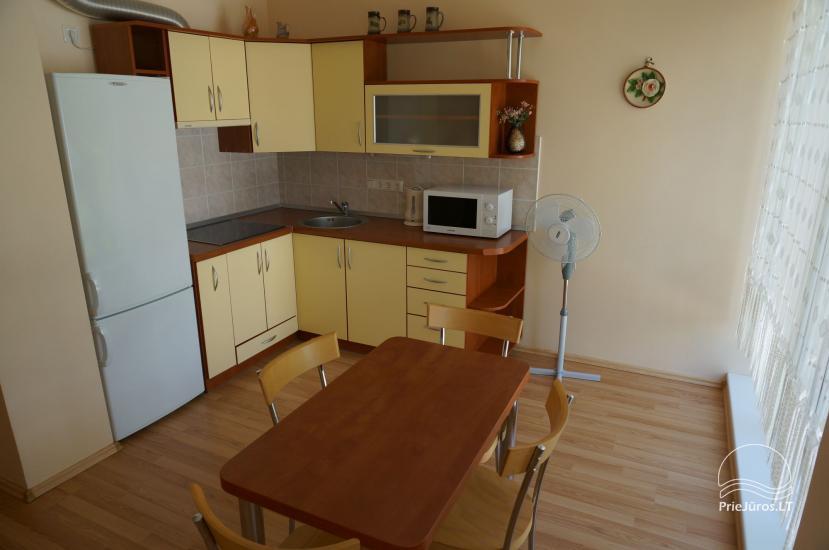 Jaukūs apartamentai Palangoje, Sermiesčio 3. Yra erdvus kiemas, vaikų žaidimų aikštelė, kepsninė - 6