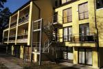 Vienistabas dzīvokļi ar balkoniem uz Kuršu kāpu