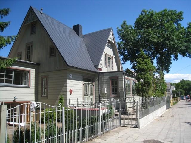 Apartamentų nuoma su atskirais įėjimais viloje Mares - 1
