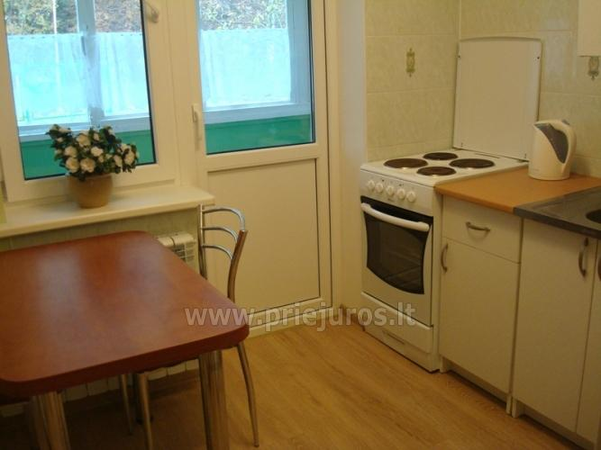 Accommodation in Curonian Spit. Two rooms apartment with large balcony - 7