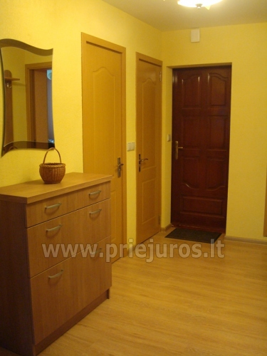 Accommodation in Curonian Spit. Two rooms apartment with large balcony - 8