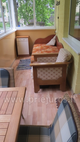 Accommodation in Curonian Spit. Two rooms apartment with large balcony - 11