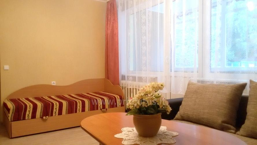 Accommodation in Curonian Spit. Two rooms apartment with large balcony - 6