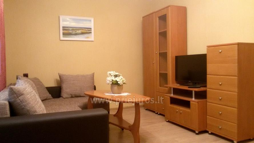 Accommodation in Curonian Spit. Two rooms apartment with large balcony - 5