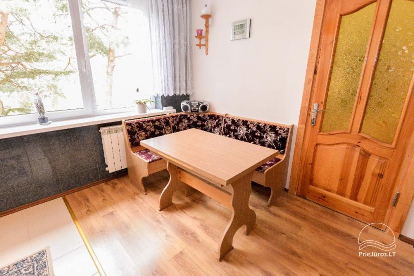 Ilgalaikei ir trumpalaikei nuomai dviejų kambarių butas su visais patogumais - 5