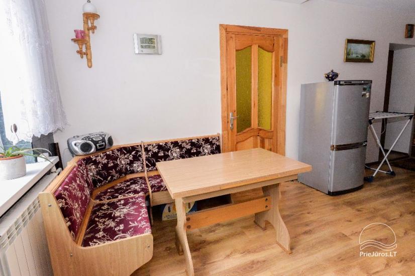Ilgalaikei ir trumpalaikei nuomai dviejų kambarių butas su visais patogumais - 6