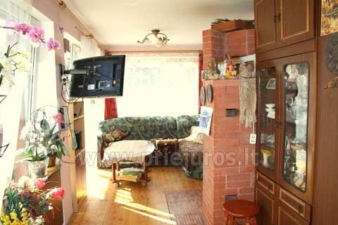 1-2 rooms apartments for rent in Nida, Curonian Spit, near Baltic sea - 5