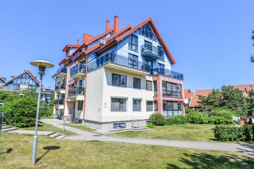 1-2 rooms apartments for rent in Nida, Curonian Spit, near Baltic sea - 1