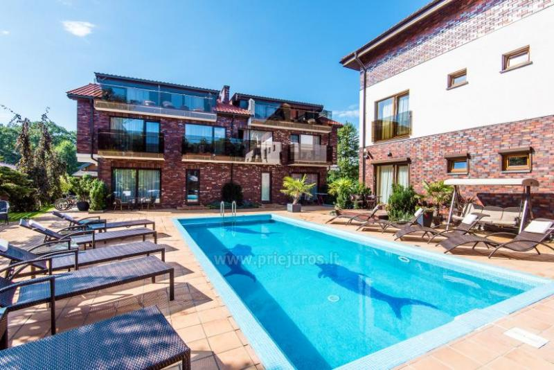 Apartments and suites in Palanga SKORPIONO VILA