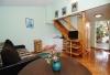 Kotedžiuko svetainė su virtuvėle