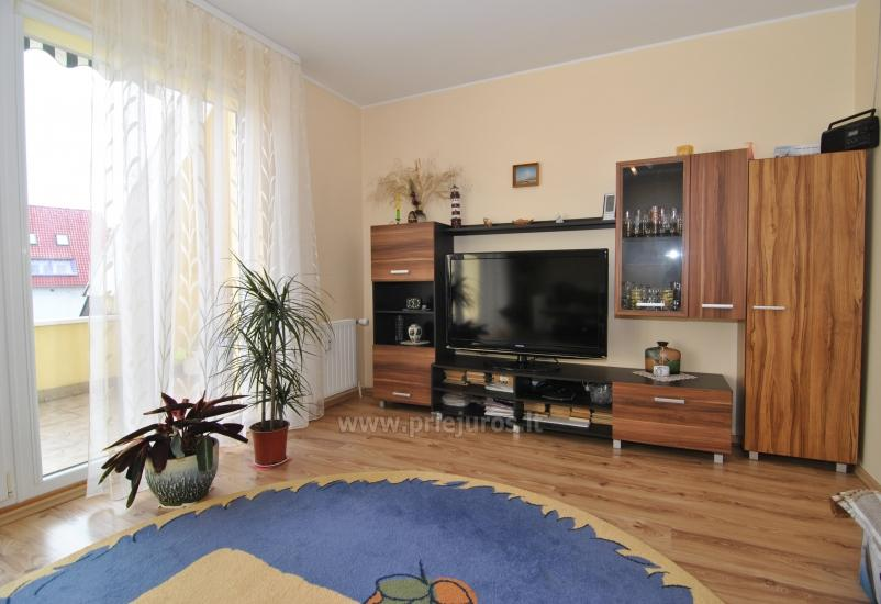 Two rooms apartment in the center of Nida with spacious balcony, 2 TV sets - 3