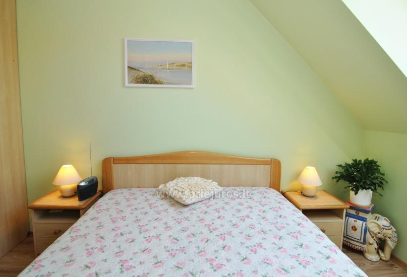 Two rooms apartment in the center of Nida with spacious balcony, 2 TV sets - 5