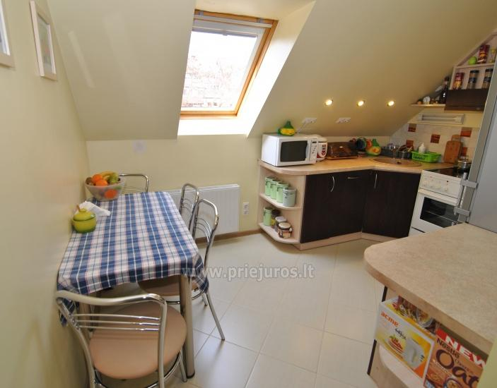 Two rooms apartment in the center of Nida with spacious balcony, 2 TV sets - 7
