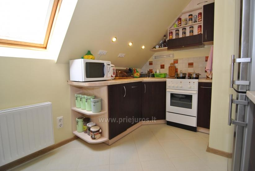 Two rooms apartment in the center of Nida with spacious balcony, 2 TV sets - 8
