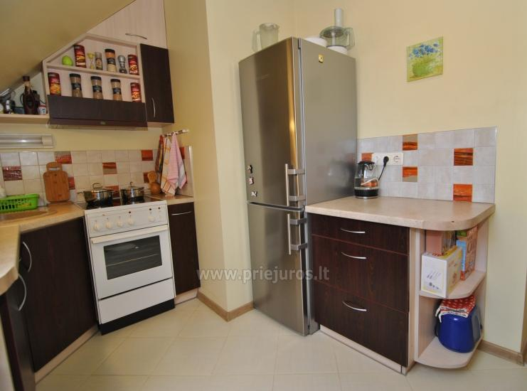 Two rooms apartment in the center of Nida with spacious balcony, 2 TV sets - 9