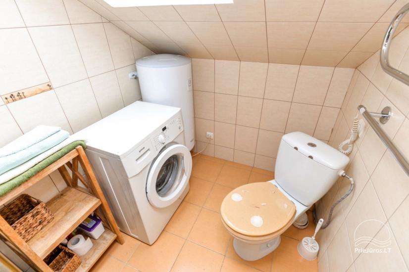 Nida, dviejų kambarių buto Greta nuoma - 11