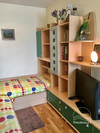 Two-bedroom Apartment Rental in Nida Saltinelis with yard, outdoor furniture - 8