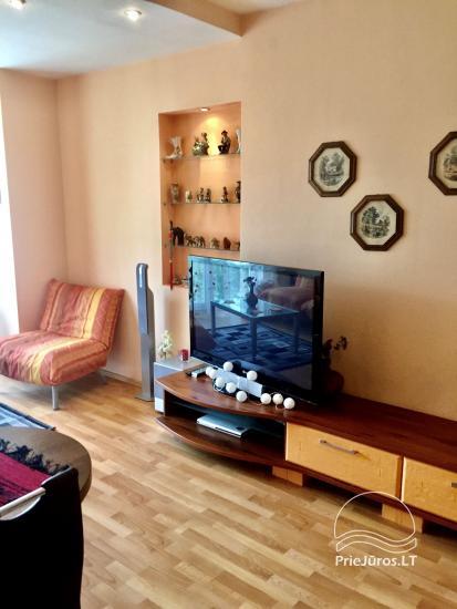 Two-bedroom Apartment Rental in Nida Saltinelis with yard, outdoor furniture - 5