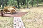 Two-bedroom Apartment Rental in Nida Saltinelis with yard, outdoor furniture - 10