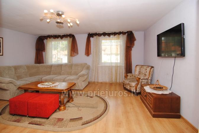 Triple-room apartment in Nida with outdoor furniture, view to lagoon - 4