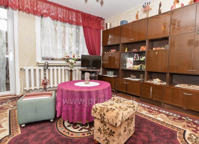 Dviejų kambarių butas Pervalkoje: balkonas,pavėsinė,šašlykinė,sūpynės. - 8