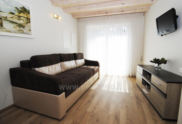 Irinos apartamentai su balkonu Nidoje - 4