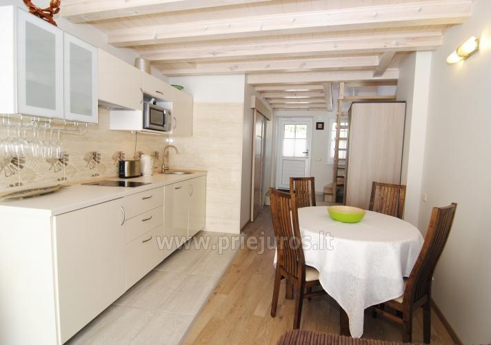 Irinos apartamentai su balkonu Nidoje - 6