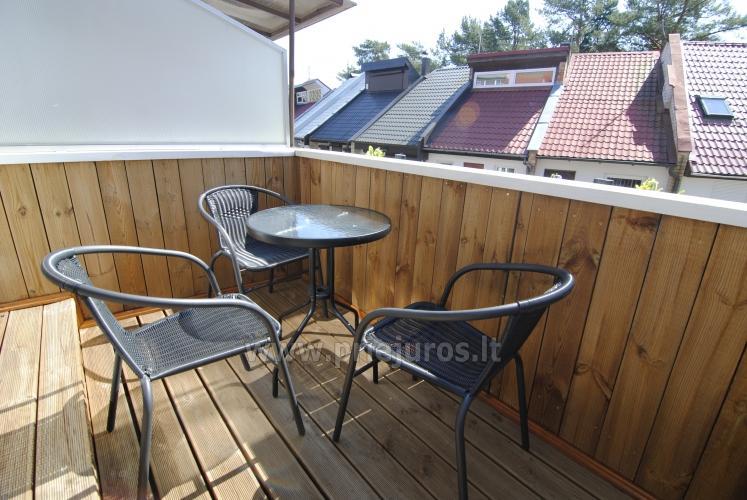Irinos apartamentai su balkonu Nidoje - 7