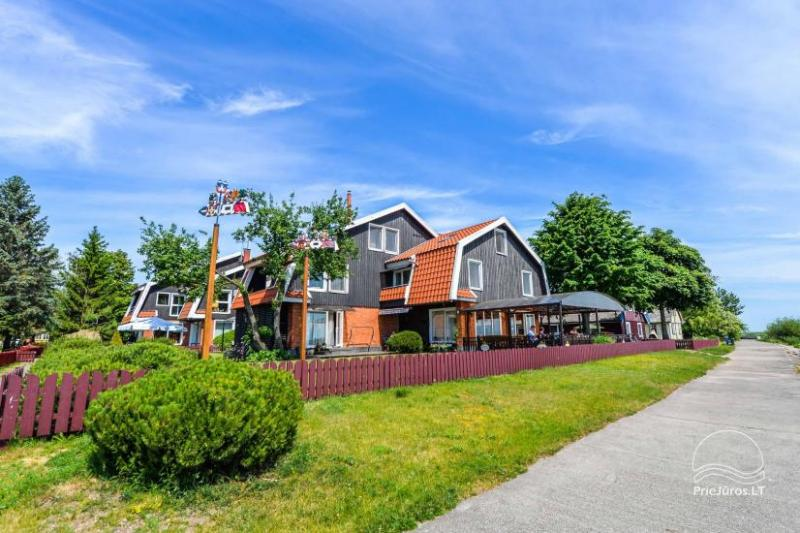 Guest house. 1-2 rooms apartments in Pervalka, Curonian Spit