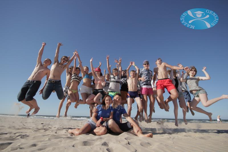 MAŽASIS GENIJUS - 2018 tarptautinė vaikų stovykla prie Baltijos jūros - 1