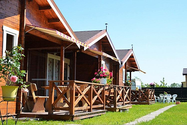 Wooden holiday cottages. Paukščių takas 10, Šventoji