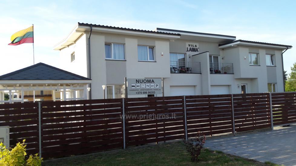 Vila LAIMA - prabangi, šiuolaikiška vila Šventosios centre - 2