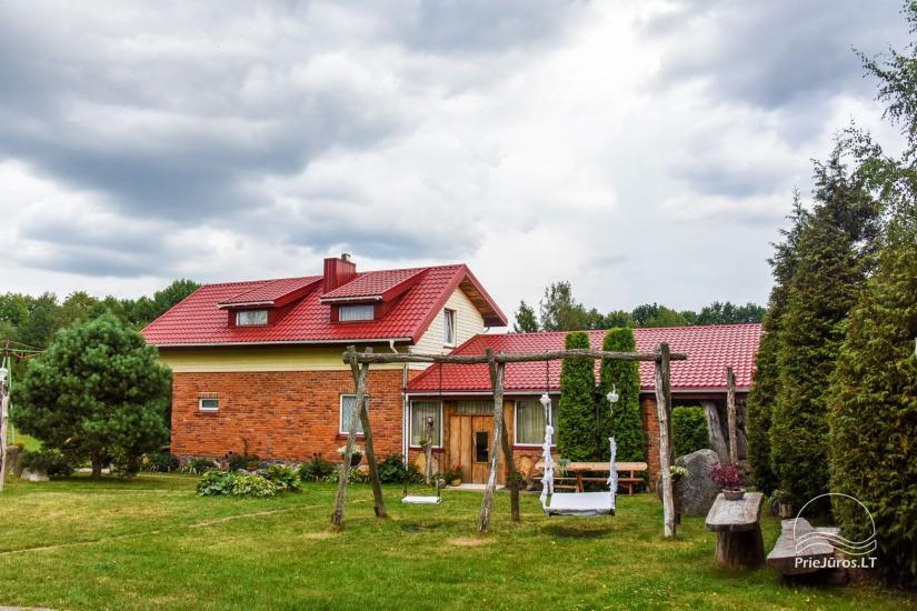 Homestead, sauna and banquet hall for rent, 10 km from Klaipeda, near minizoo - 3