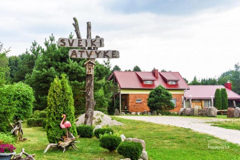 Villas, sauna, zāles noma 10 km no Klaipēdas, netālu minizoo, Jonušai
