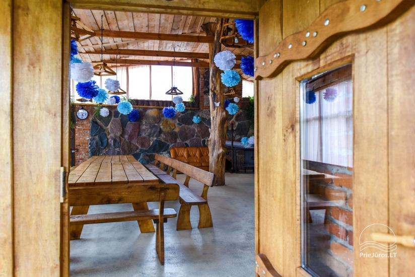 Homestead, sauna and banquet hall for rent, 10 km from Klaipeda, near minizoo - 16